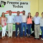 El Frente Para Todos inauguró su nuevo local y presentó los primeros concejales