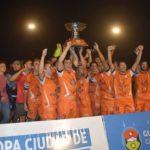 Deportivo no pudo con Larroque que se coronó Campeón de la Copa Gualeguaychú