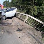Un hombre permanece en estado crítico tras el accidente del auto que chocó contra un puente en Ruta 20
