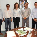 Leo Silva se reunió con el Ing. Jorge González y buscan que llegue el gas natural a Aldea San Antonio