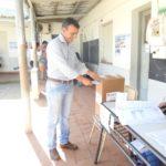 El precandidato a Diputado Provincial Leo Silva votó en Aldea San Antonio