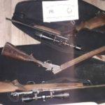 Procedimientos y secuestros de armas de la brigada de delitos rurales