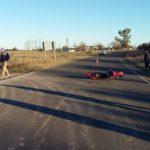 Accidente entre una camioneta y un auto en la Ruta Provincial N°51