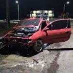 Urgente: Un auto despistó y chocó contra el guardarraíl en el acceso norte a Urdinarrain