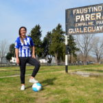 Karen Spiazzi:  De la canchita de Parera al Alavés de España