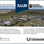 Inauguran el Salón de Usos Múltiples construido en el Parque Industrial Urdinarrain
