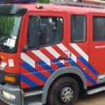 Salida de Bomberos: Un auto se incendió en Ruta 19 zona Costa San Antonio