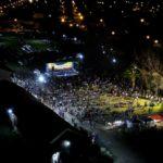 Urdinarrain celebró sus 129 años con una gran fiesta popular