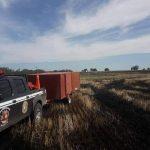 Bomberos de Aldea San Antonio y Urdinarrain trabajaron en un incendio de campo