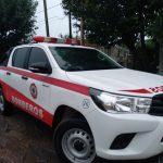 Se registran 74 milímetros de lluvia en Urdinarrain y bomberos voluntarios asistieron a una familia