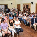 Autoridades del Municipio de Urdinarrain participaron del lanzamiento de la tarjeta alimentaria en Concordia