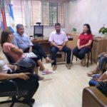 Integrantes de la ONG «Amigo Fiel» se reunieron con el intendente Sergio Martínez