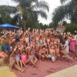 En el Club Deportivo se realiza la segunda edición del encuentro de natación