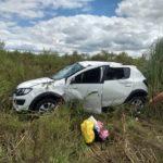Un auto buscó evitar un choque y terminó volcando en Ruta Provincial N°20
