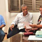 El intendente Sergio Martínez participó de una reunión con la Directora de Vialidad Provincial