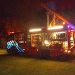 Bomberos de Urdinarrain intervinieron en incendio de una vivienda en Parera