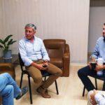 Funcionarios del Municipio de Urdinarrain se reunieron con el Ministro Juan José Bahillo