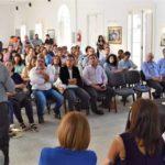 El director de Turismo y Cultura del Municipio Marcelo Tommasi participó de una reunión provincial