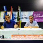 Coronavirus: Martínez y Riehme brindaron un informe de la situación actual en la ciudad