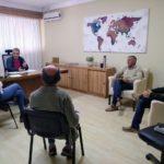 Reunión entre autoridades del Municipio y del Centro de Defensa Comercial de Urdinarrain