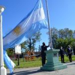 Con un panorama diferente se realizó el acto del 25 de Mayo en Urdinarrain