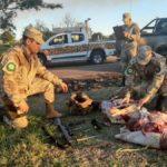 Se secuestraron dos armas de fuego e identificaron a dos personas de Urdinarrain