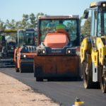 La pavimentación de la ruta 51 entre Larroque y Parera presenta un 60 por ciento de avance