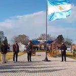 Se realizó en la Plaza Belgrano el acto oficial por el día de la Bandera en Urdinarrain