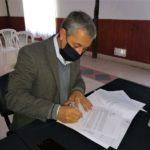 El intendente de Urdinarrain firmó el convenio del programa nacional «Argentina Hace»