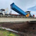Avanza la Ruta 51: Pavimentaron el puente sobre arroyo «Las Toscas»