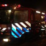 Bomberos de Urdinarrain trabajan este sábado en incendio en Barrio Butelli