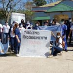 El 1 de Octubre: paro y movilización de Enfermeros en Urdinarrain