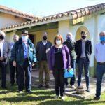 En un acto la Estación Agro Meteorológica Municipal recibió el nombre de Eduardo Aubert