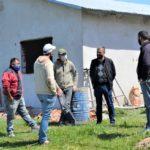 Se reiniciaron los trabajos en las 6 viviendas por cooperativa en la ciudad