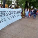 Masiva participación en la marcha rechazando la ley de legalización del aborto en Urdinarrain