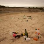 Inconsciencia ambiental: Así abandonan los residuos a orillas del Río Gualeguay