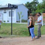 Colocaron el nombre de Ana María Asís a calle del barrio San Cayetano