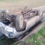 Un joven grave tras fuerte accidente entre una camioneta y una moto en Urdinarrain