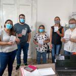 Personal de salud de Urdinarrain recibió la vacuna contra el Covid- 19