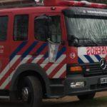 Urgente: Bomberos de Urdinarrain concurrieron a un incendio de vivienda