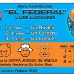 Luciano lanzó un Bono Contribución para sumar apoyo por su participación en el Torneo Federal