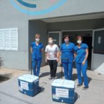 Urdinarraenses recuperados de coronavirus donaron plasma de convaleciente
