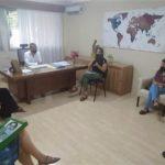 El Ejecutivo Municipal recibió a la Unión de Colectivos Feministas de Urdinarrain