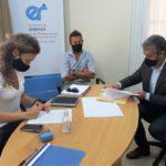 Firmaron convenio para la concreción de extensión en la red de gas natural en barrios de la ciudad