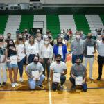 Deportistas de Urdinarrain recibieron becas del Gobierno Provincial