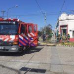 Se produjo un incendio en una imprenta en pleno centro de Urdinarrain