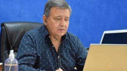 Secretario General de AGMER, Marcelo Pagani