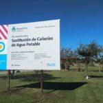 Esta tarde lanzan oficialmente la obra de reemplazo de caños de agua potable en Urdinarrain