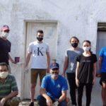 La Intransigencia Popular reparó  la sede y exige respuestas sobre las pintadas vandálicas