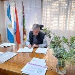 Martínez firmó el convenio con Nación para la primera etapa de las luminarias led en la ciudad